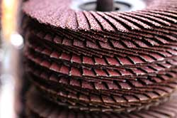 industrial grade abrasives sanding discs at Terry Supply Company